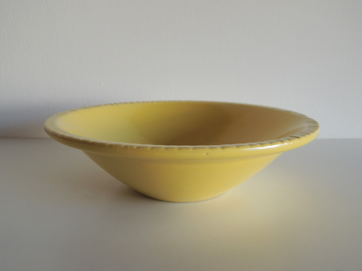 Bowl (Yellow)
