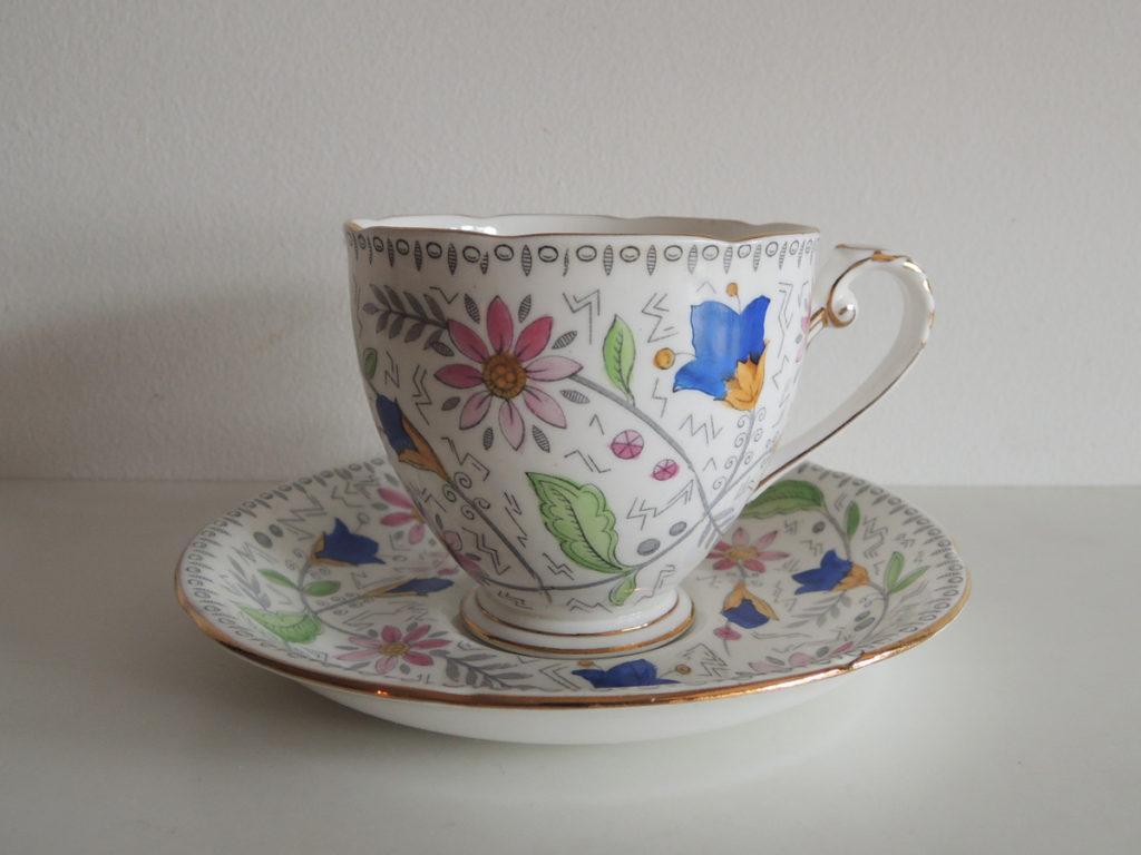 Cup&Saucer (Floral)