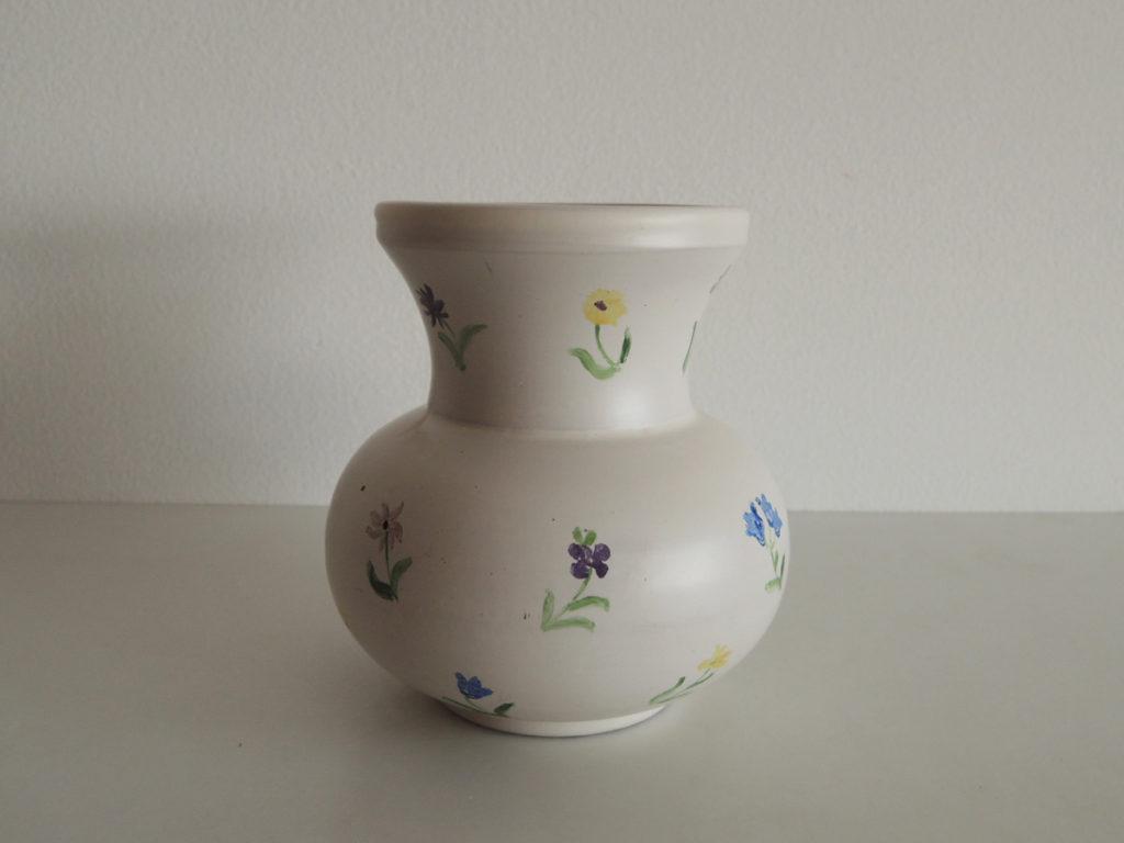"""Flower pattern"" Vase"