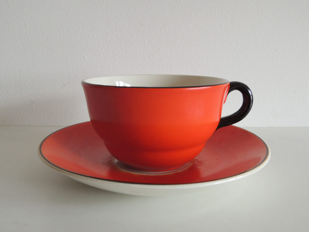 Cup&Saucer (Red)