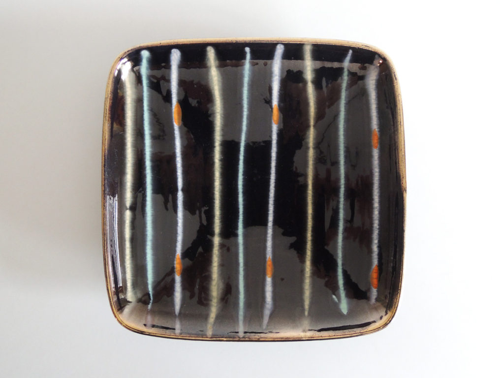 """Stripe"" Square Plate"