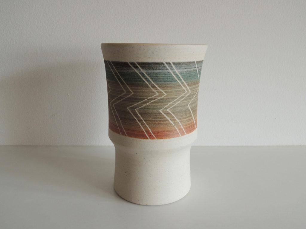 """""""Zigzag"""" Vase"""