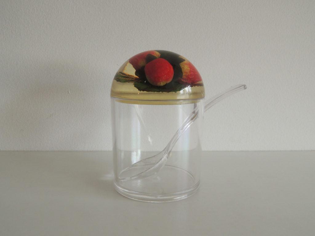 Strawberry Jam Pot
